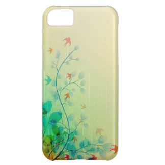 Modern Spring Floral Abstract Art Case For iPhone 5C