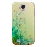 Modern Spring Floral Wedding Samsung Galaxy S4 Covers
