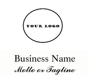 Add your logo business cards templates zazzle modern square logo add my logo business card cards colourmoves Images