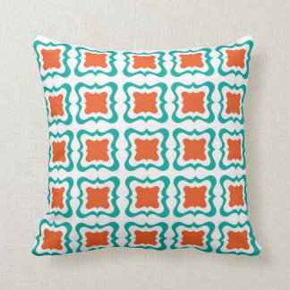 Teal And Orange Decorative Pillows : Teal And Orange Pillows - Decorative & Throw Pillows Zazzle
