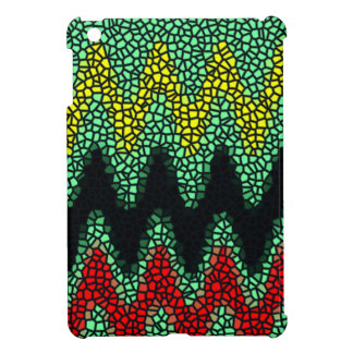 Modern stained glass iPad mini case