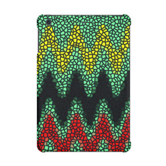 Modern stained glass iPad mini covers