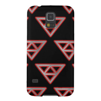 Modern Stainless Steel Pyramid 3 Galaxy S5 Case