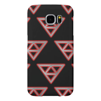 Modern Stainless Steel Pyramid 3 Samsung Galaxy S6 Cases