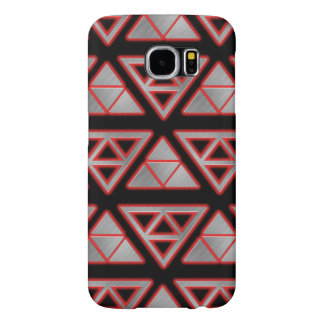 Modern Stainless Steel Pyramid Samsung Galaxy S6 Cases
