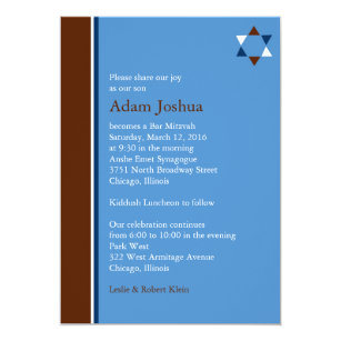 Kiddush Gifts Invitations | Zazzle