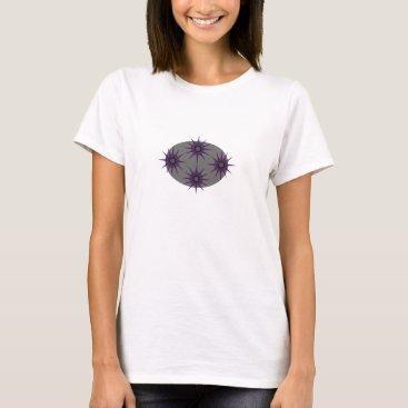 Beach Themed Modern Star Design T-Shirt