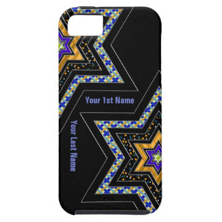 Modern Star of David (Personalized) iPhone 5 Covers