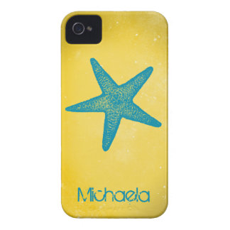 Modern Starfish Customizable iPhone 4 Cover