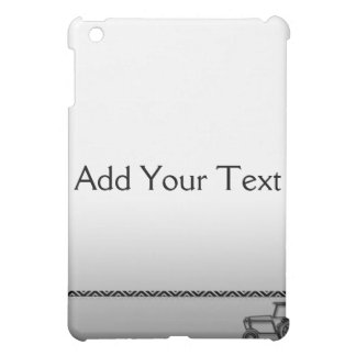Modern Steel Tractor  Cover For The iPad Mini