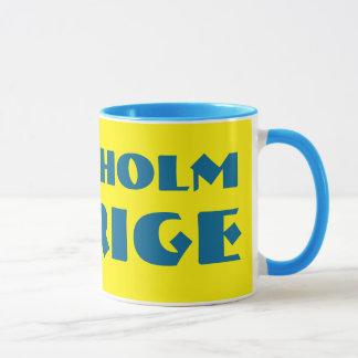 Modern Stockholm Sverige Mug