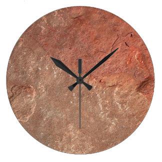 Modern Stone Look Wall Clock