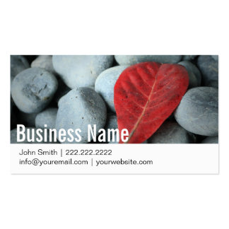 Modern Stones Photography Business Cards