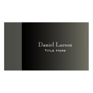 Modern Striped Business Card