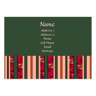 Modern Stripes Business Card