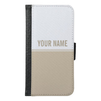 Modern Stripes Cream Ivory Galaxy S6 Case