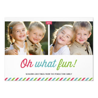 Modern Stripes | Holiday Photo Card