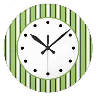 Modern Stripes Wall Clocks