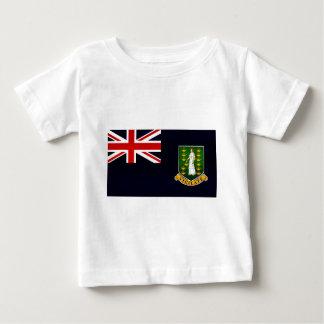 Modern Stripped B.V. Islander flag Baby T-Shirt