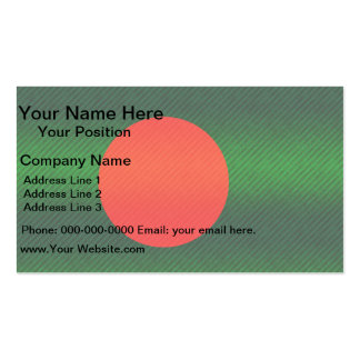 Modern Stripped Bangladeshi flag Double-Sided Standard Business Cards (Pack Of 100)