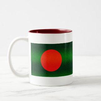 Modern Stripped Bangladeshi flag Mugs