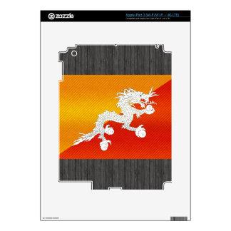 Modern Stripped Bhutanese flag Decal For iPad 3