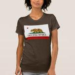 Modern Stripped Californian flag Tee Shirts