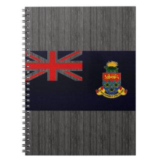 Modern Stripped Caymanian flag Notebook