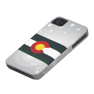 Modern Stripped Coloradan flag iPhone 4 Covers