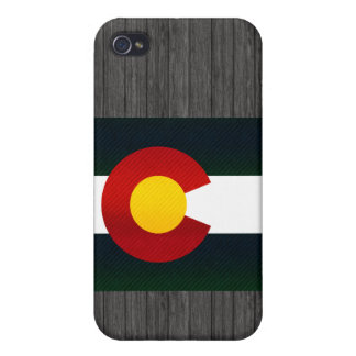 Modern Stripped Coloradan flag iPhone 4 Cover