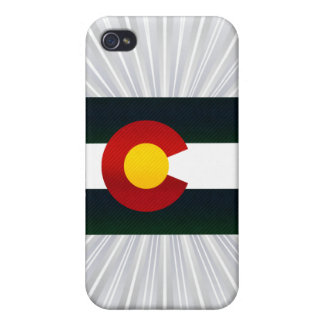 Modern Stripped Coloradan flag iPhone 4/4S Covers
