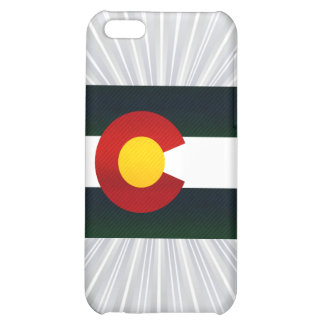 Modern Stripped Coloradan flag Cover For iPhone 5C