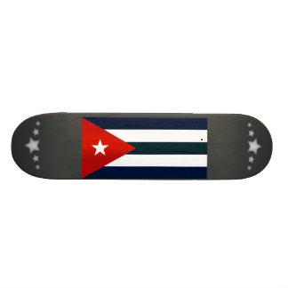 Modern Stripped Cuban flag Skate Board Decks