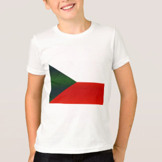 Modern Stripped Czech flag T-Shirt