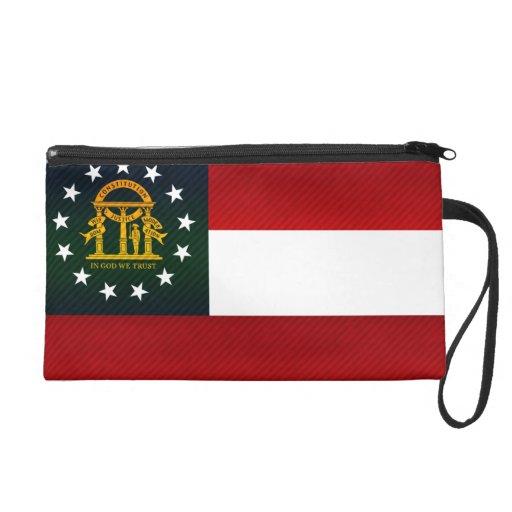 Modern Stripped Georgian flag Wristlets