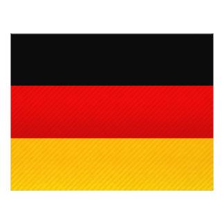 Modern Stripped German flag Flyers