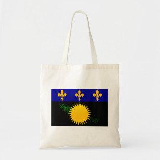 Modern Stripped Guadeloupean flag Canvas Bag