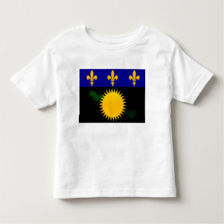Modern Stripped Guadeloupean flag Tshirts