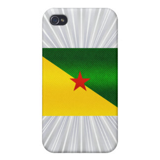 Modern Stripped Guianese flag Covers For iPhone 4