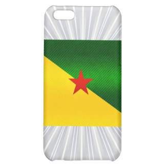 Modern Stripped Guianese flag Cover For iPhone 5C