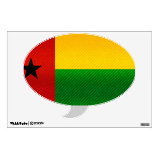 Modern Stripped Guinean flag Wall Decal