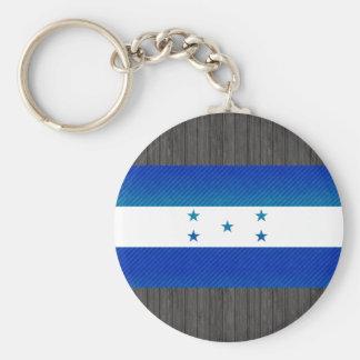 Modern Stripped Honduran flag Keychains
