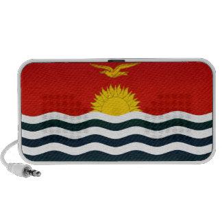 Modern Stripped I-Kiribati flag Travel Speaker