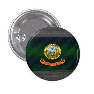 Modern Stripped Idahoan flag Button