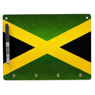 Modern Stripped Jamaican flag Dry Erase Whiteboard