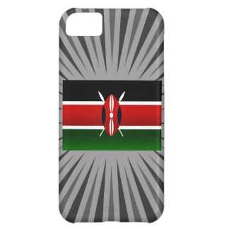 Modern Stripped Kenyan flag Case For iPhone 5C