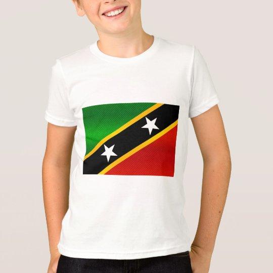 Modern Stripped Kittian flag T-Shirt