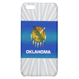 Modern Stripped Oklahoman flag Case For iPhone 5C