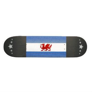 Modern Stripped Patagonian flag Custom Skate Board