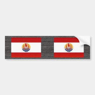 Modern Stripped Polynesian flag Bumper Stickers